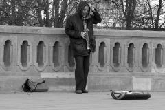 Muzikant-Berlijn